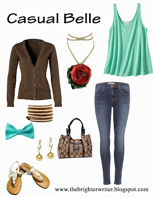 Casual Belle for any Disneyland or Disneyworld vacation! www.thebrighterwriter.blogspot.com