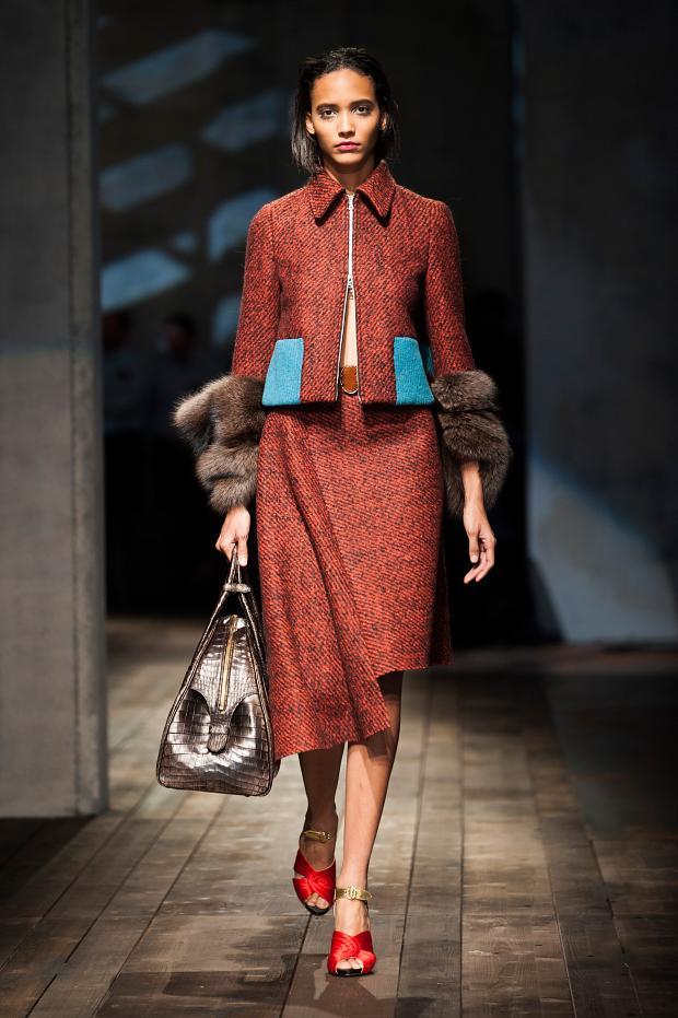 2013 Prada Autumn Winter Fashion Week Style