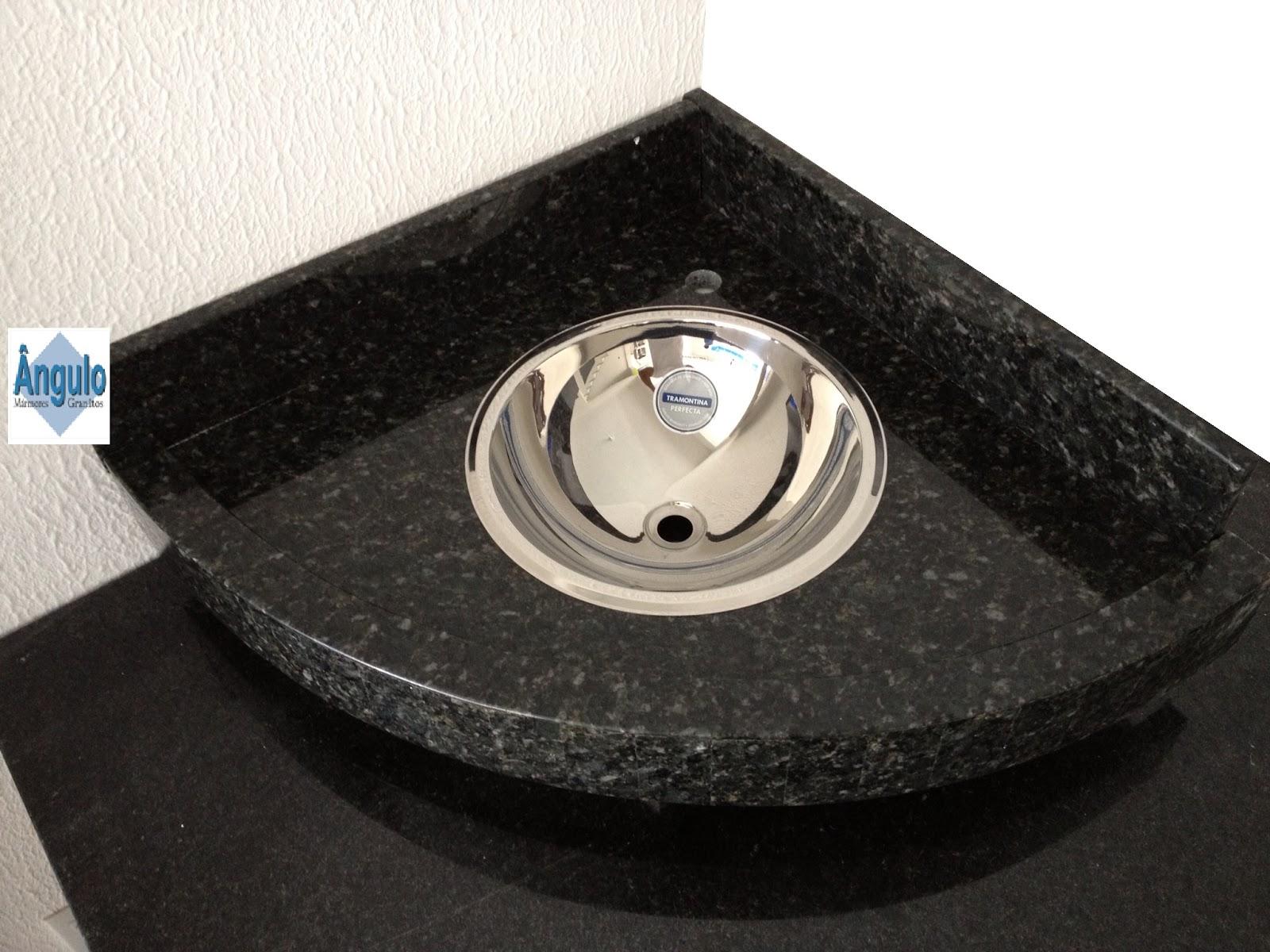 Ângulo Mármores e Granitos: Pia de Banheiro Verde Ubatuba #367195 1600x1200 Banheiro Com Bancada De Canto