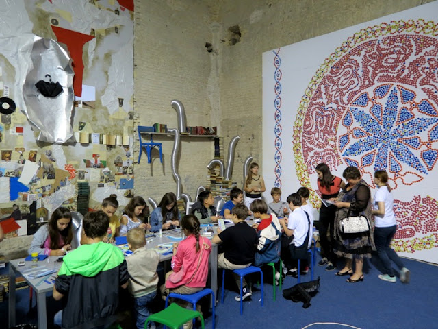Занятия для детей на Книжном Арсенале