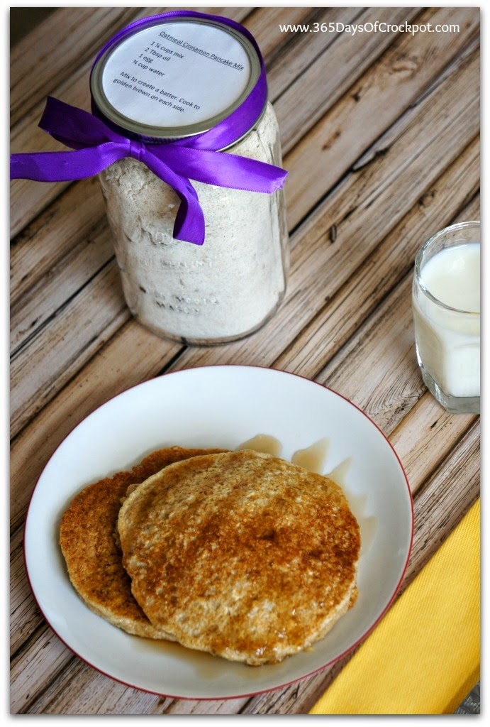 365 Days of Slow Cooking: Recipe for Oatmeal Cinnamon Pancake Mix ...