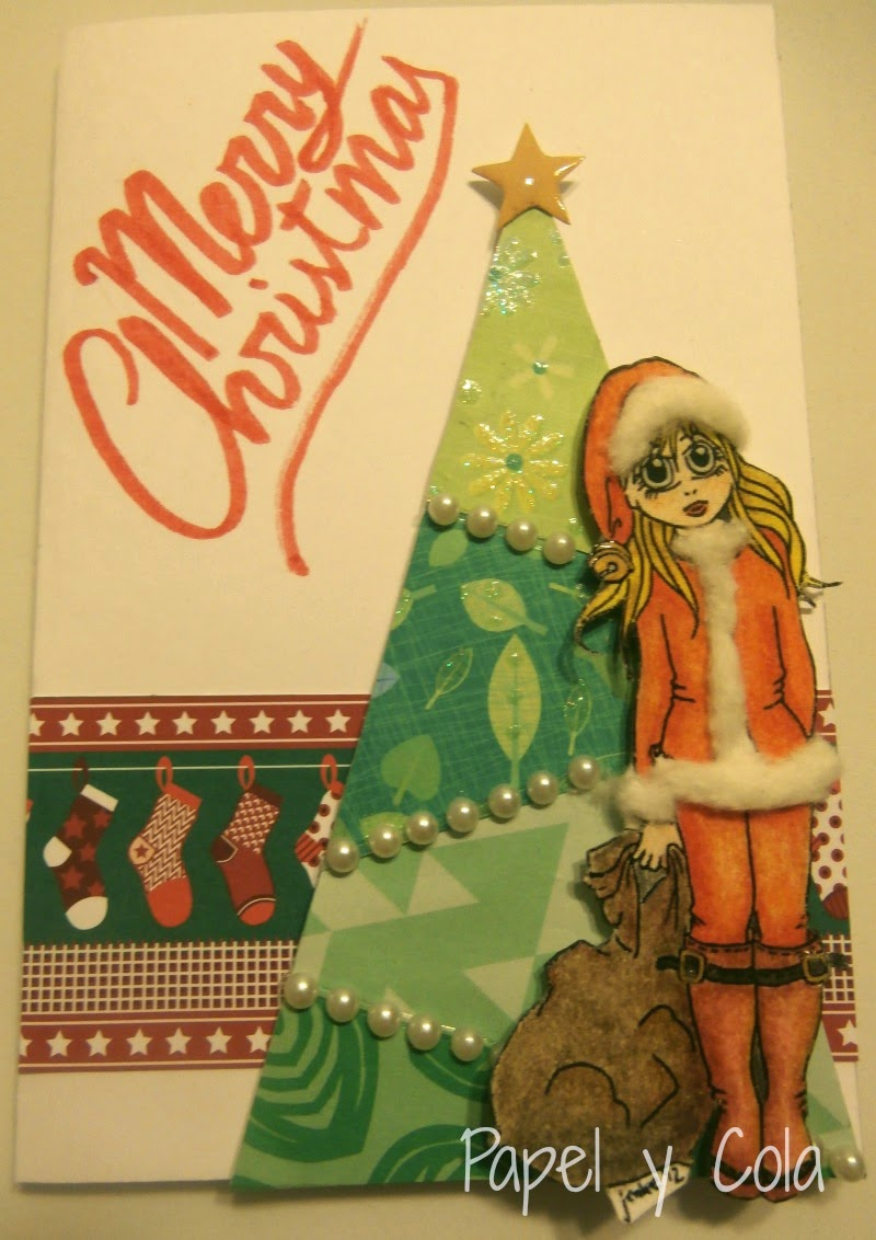 Merry Christmas - Papel y Cola