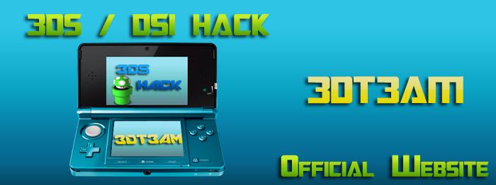 3DS / DSI HACK