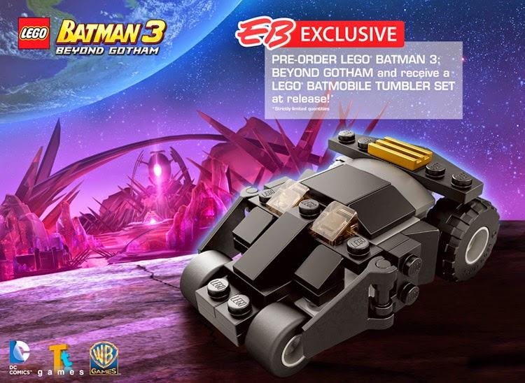 Oz Brick Nation: LEGO Batman 3: Beyond Gotham EB Games Preorder Bonus.