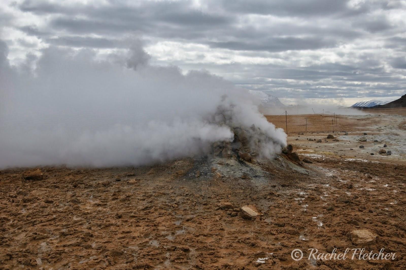 Fumarole at Hverir