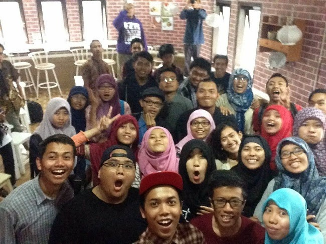 Foto Bareng Jemari Indonesia Muda dan Jamban Blogger