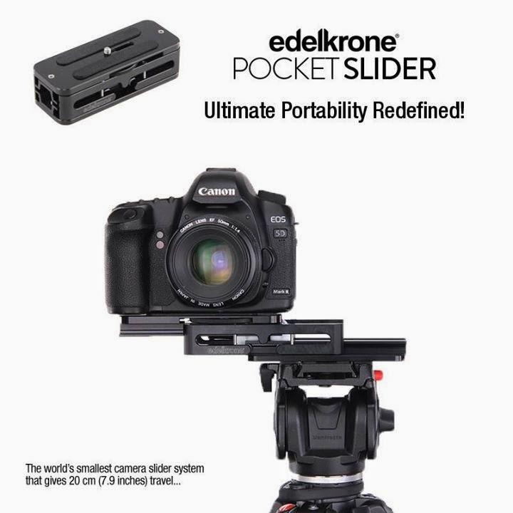 Edelkrone's fascinating new sliders: Wing PocketSlider
