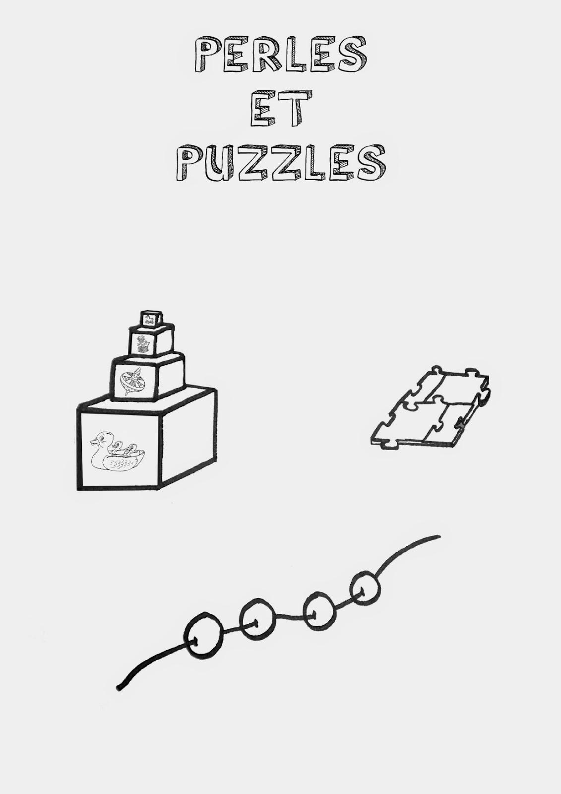 Rangement pour jeux de perles et cubes