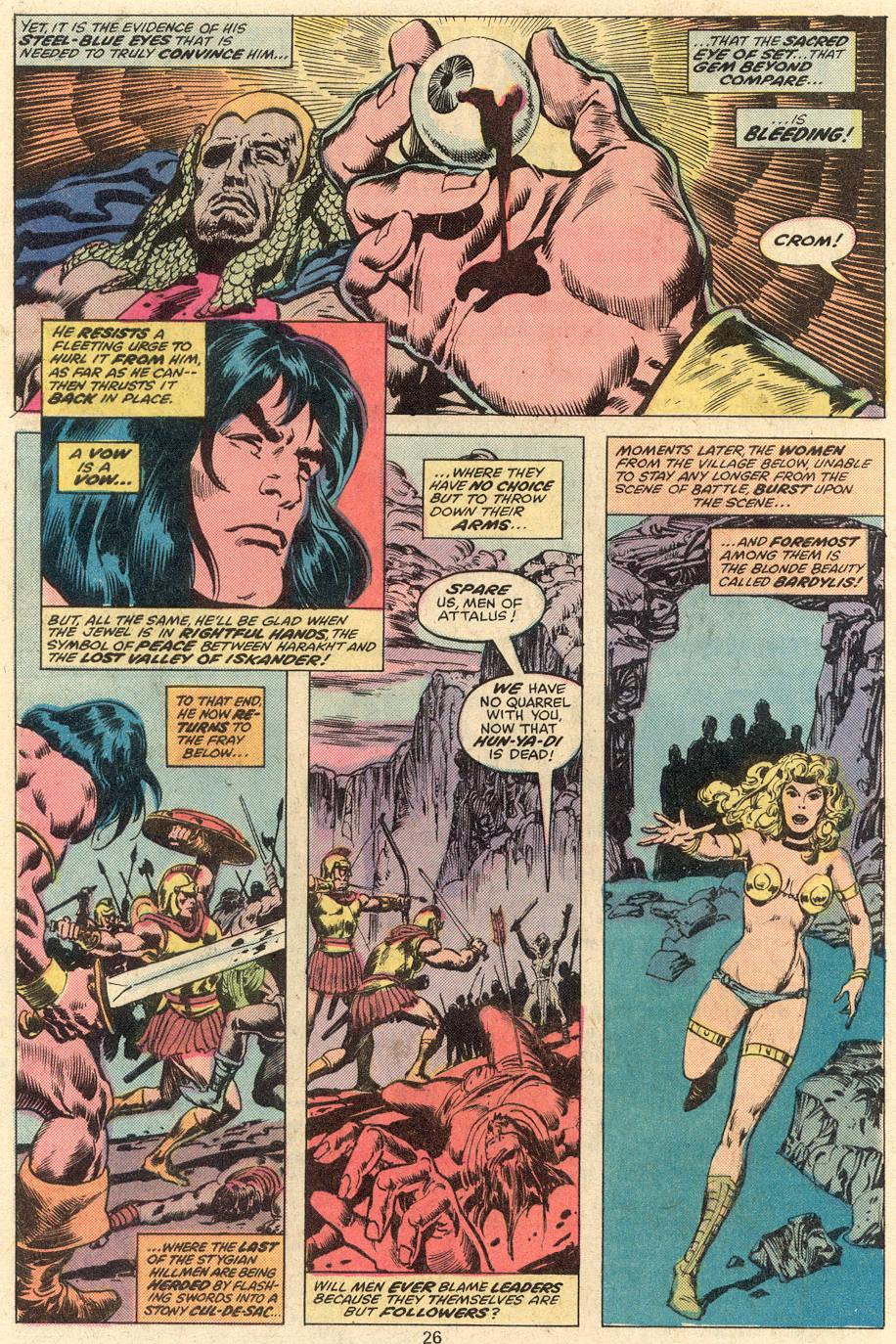 Conan the Barbarian (1970) Issue #81 #93 - English 15