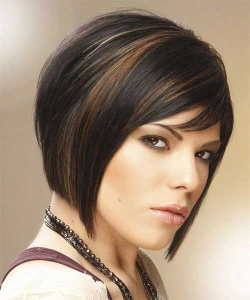 10 Latest Short Straight Haircuts for Round Faces - Jere Haircuts
