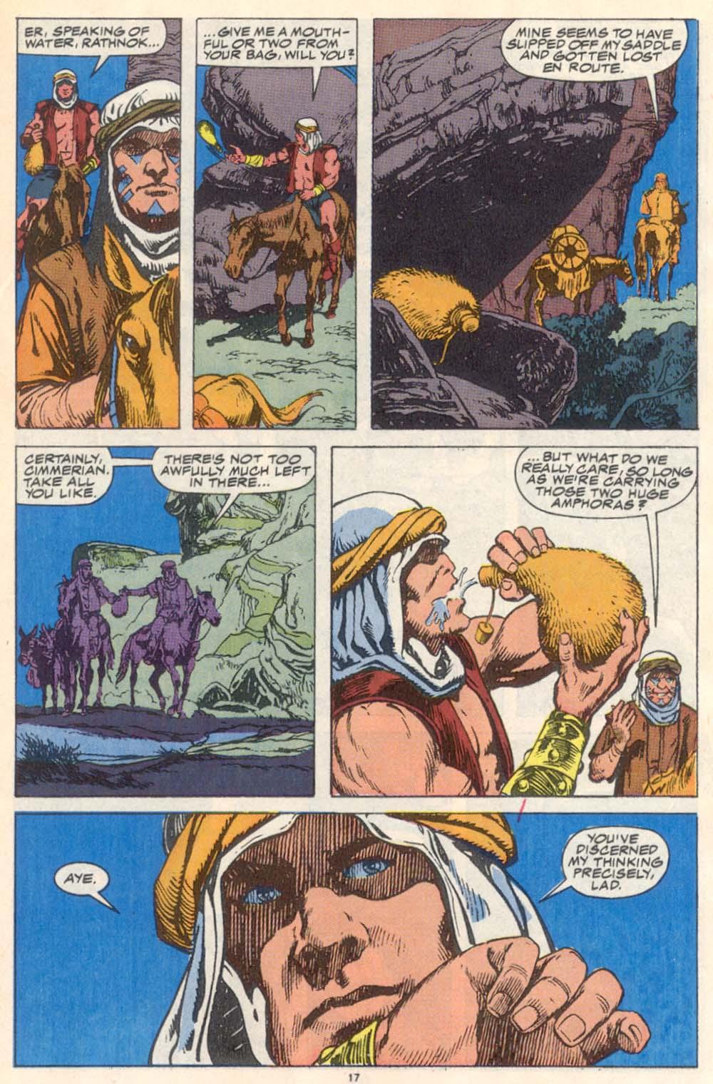 Conan the Barbarian (1970) Issue #223 #235 - English 14