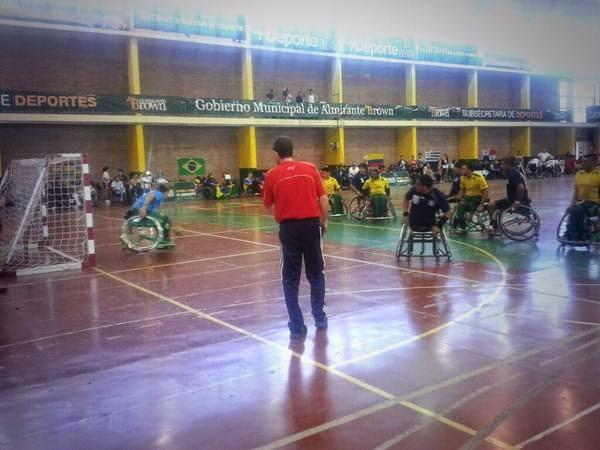 Posiciones Finales del Panamericano de Handball Adaptado