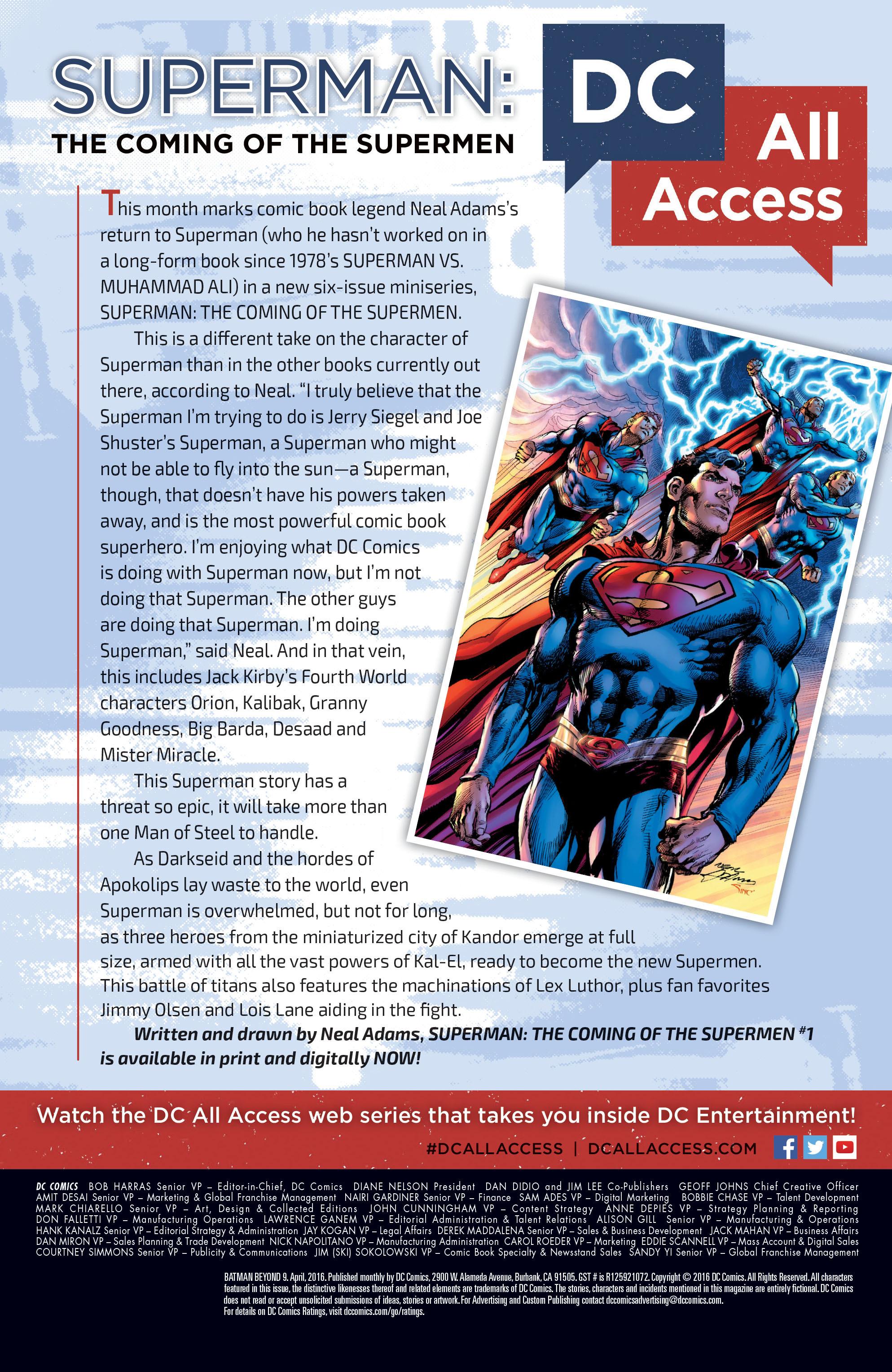 Batman Beyond (2015) Issue #9 #9 - English 22
