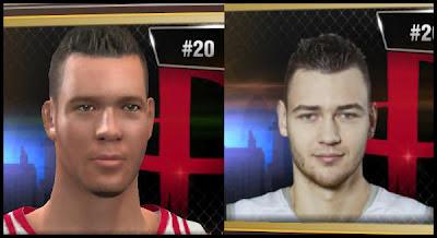 NBA 2K13 Donatas Motiejūnas Portrait - Houston Rockets