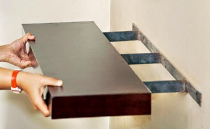 Rak Dinding Tempel Minimalis Simpati Furniture