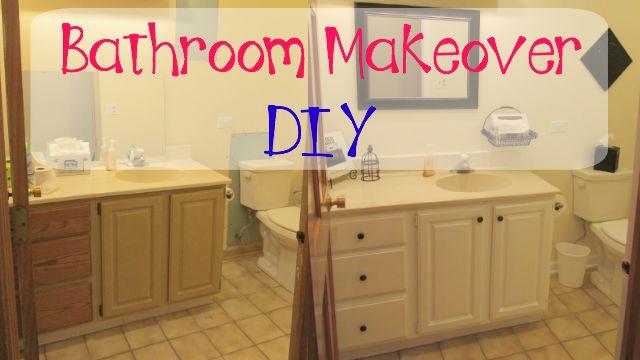 Craft Klatch Garbage to Gorgeous Episode 8 Bathroom Makeover on
