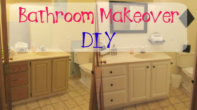 Bathroom Makeovers Youtube craft klatch ®: garbage to gorgeous episode #8: bathroom makeover