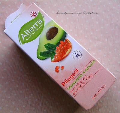 """Recenzja: Alterra, olejek pielęgnacyjny """"Granat i Avocado"""""""