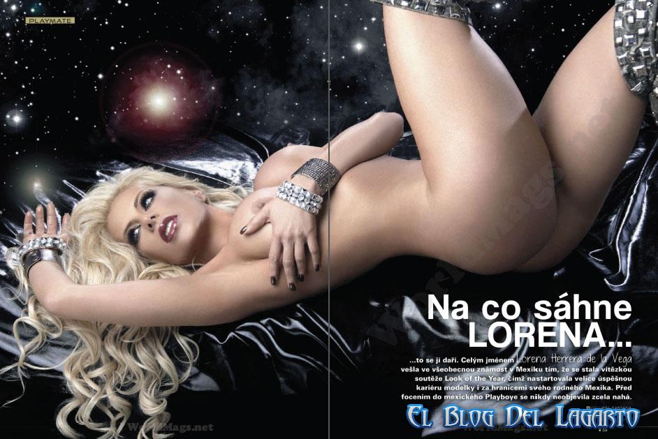 Lorena Herrera Playboy