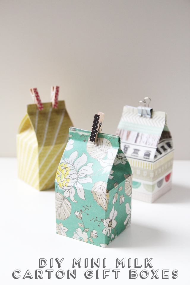 Diy mini milk carton gift boxes title 2