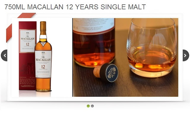 macallan alcohol for wedding party