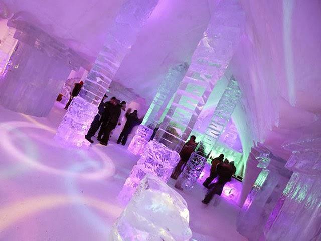 hotel de glace - hotel de hielo