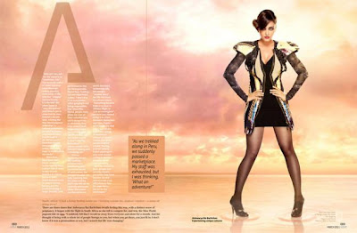 Aishwarya Rai Bachchan on Verve Magazine March 2011