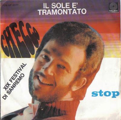 Sanremo 1969 - CHECCO - Il sole è tramontato
