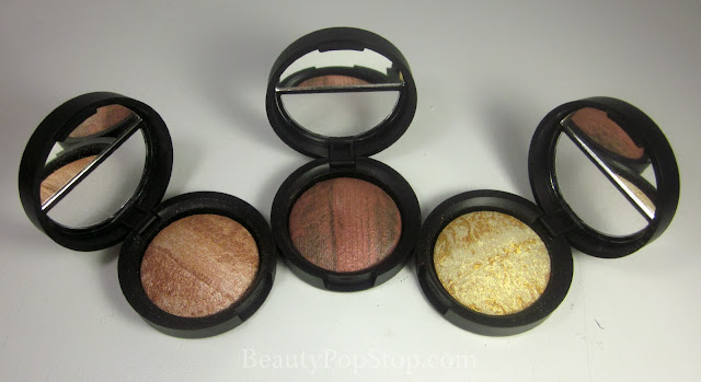 QVC Laura Geller Stackable Macaroons Baked Brulee Eyeshadow Swatches and Review