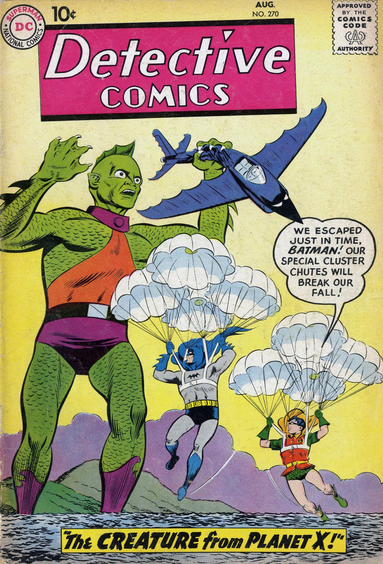 Detective Comics (1937) 270 Page 1