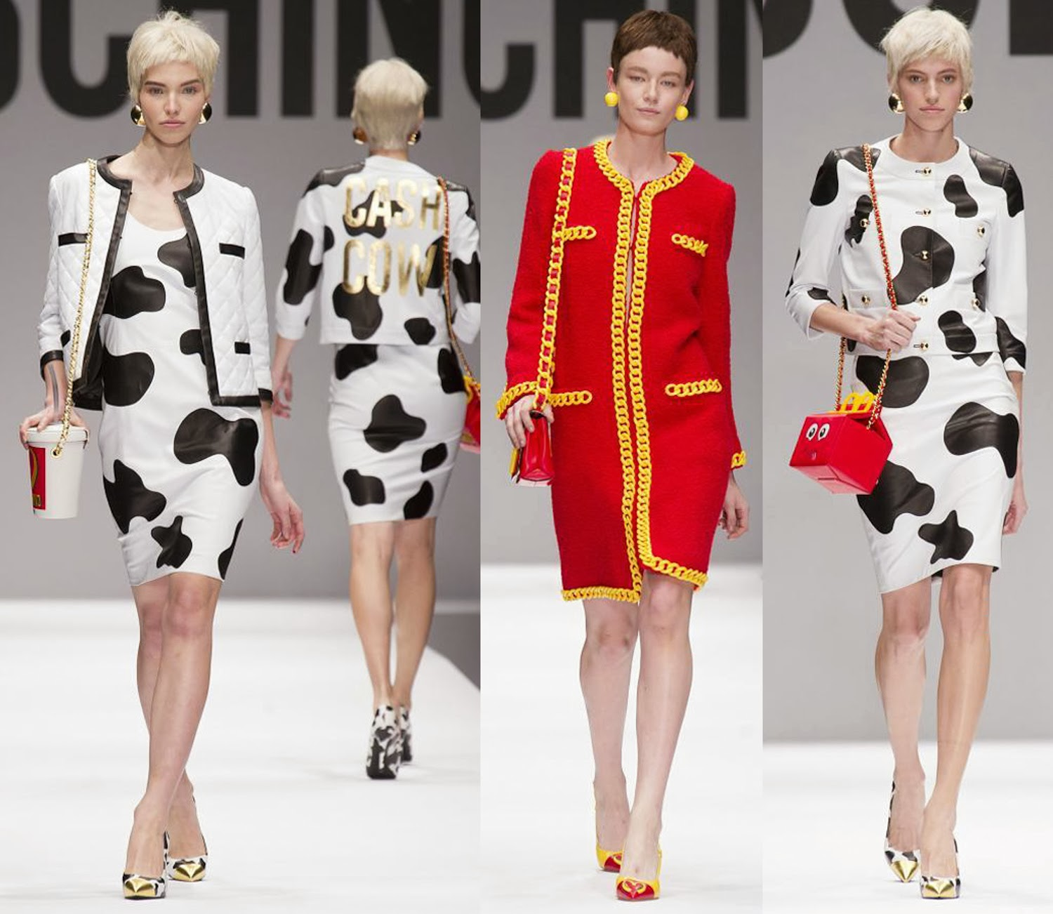 Moschino Autumn Fall Winter 2014 2