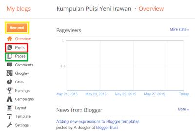 panduan membuat blogspot terbaru