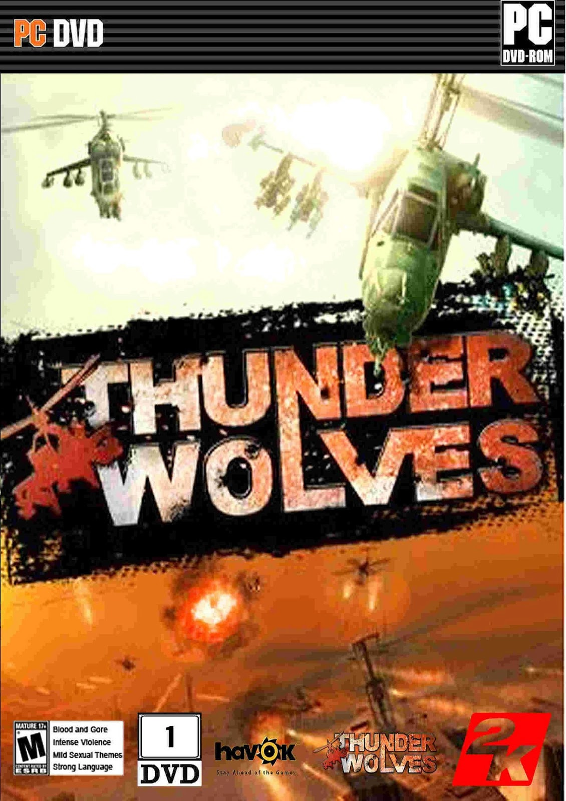 Download Thunder wolves PC