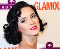Katy Perry's 50's inspired haircut