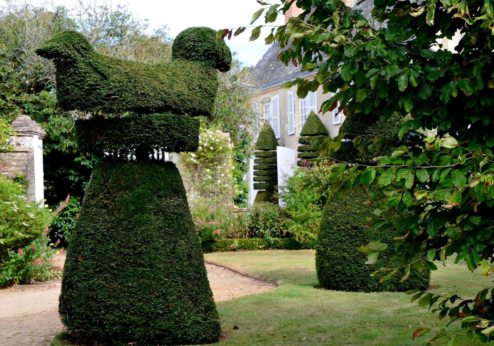 Si la rose art topiaire au jardin de la massonni re - Jardin topiaire ...