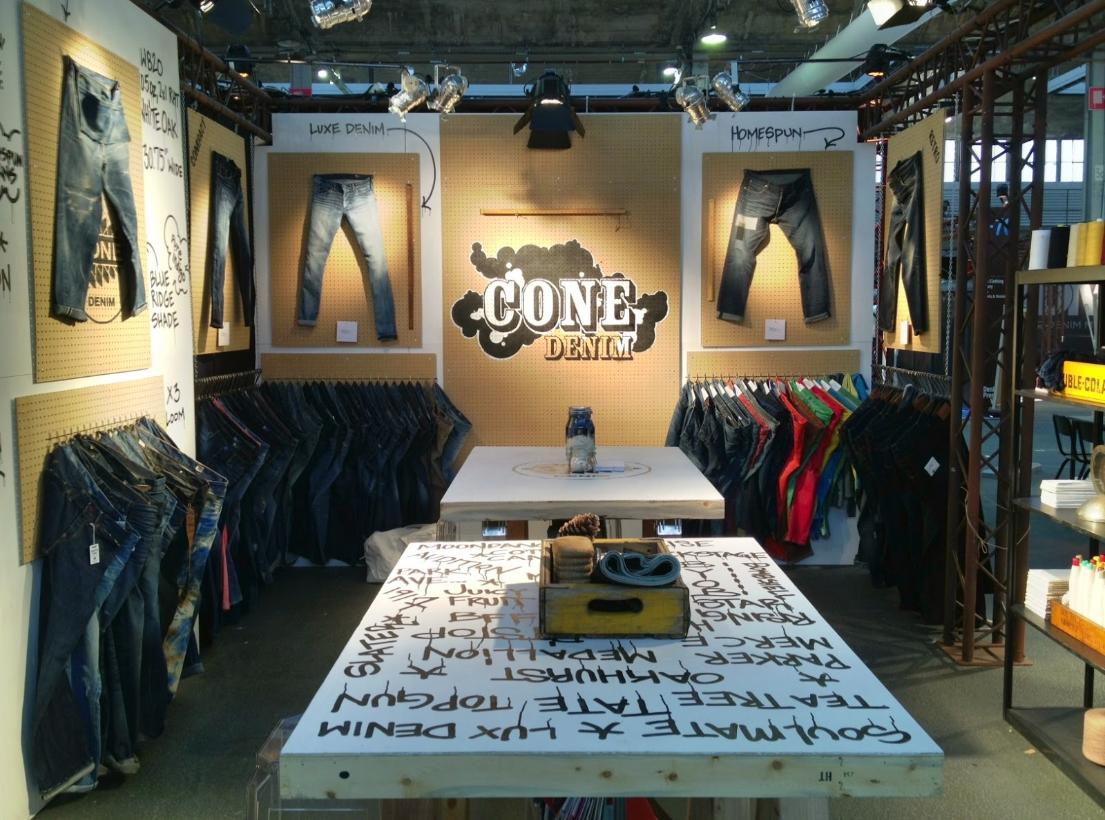 Inside Our Booth | Cone Denim