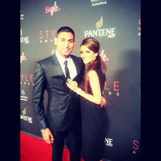 Boxer Amir Khan and Faryal Makhdoom red carpet