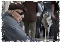 La historia del ciego y su cartel
