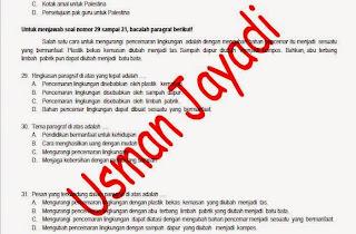 Download Gratis Prediksi Soal US Bahasa Indonesia SD/MI