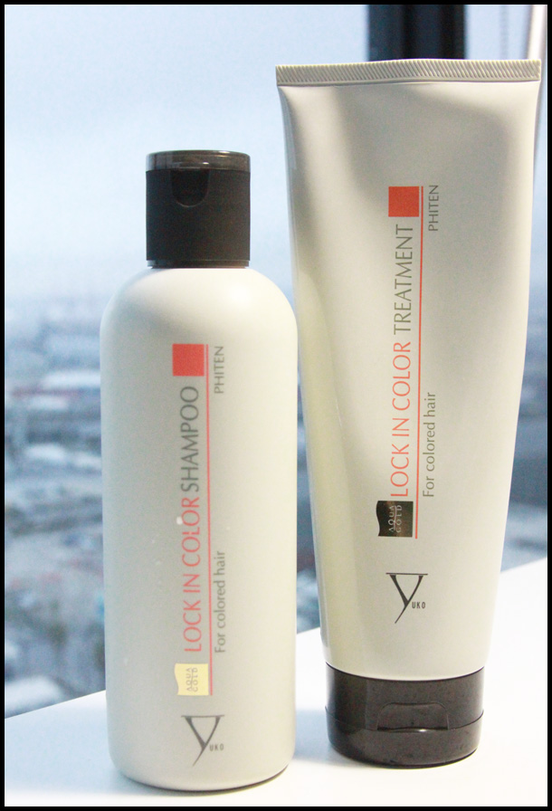 Product Review Yuko Lock In Color Treatment Shampoo And