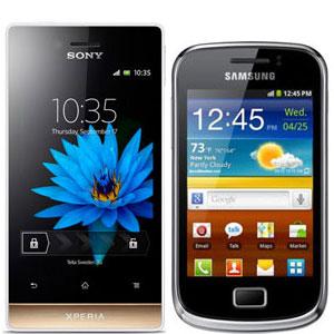 comparison samsung galaxy mini 2 vs sony xperia miro manual user guide rh tipz tech blogspot com Sony Xperia Z6 Sony Xperia 2
