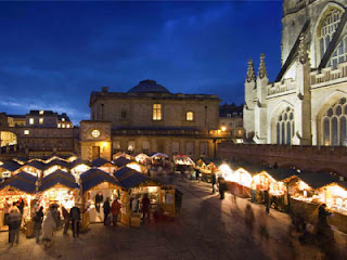 Bath Christmas Market, Bath, Avon