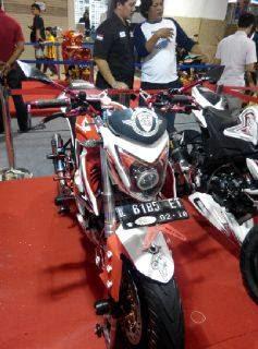 Menang Honda Modif Contest - Kelas Honda Sport Naked