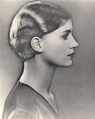 Solarised Portrait of Lee Miller, c. 1929 by Man Ray
