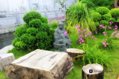 taman dewi kwan im fotografi medan