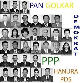 32 Orang Anggota DPRD yang Mendukung Pemakzulan Jokowi