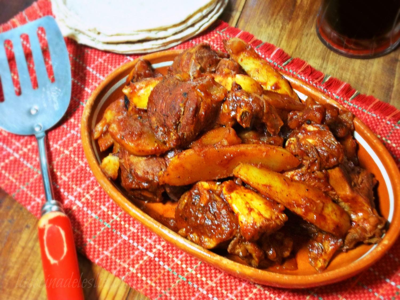 Запеченная курица кусочками с картошкой в духовке рецепт