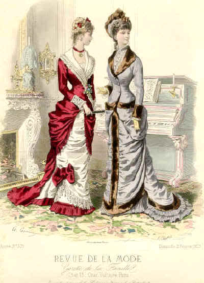 The Northern Bride: Dress of March - Victorian/Steampunk ...