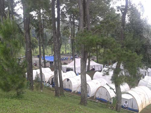 camping ground pilihan
