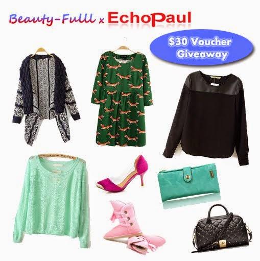 Echopaul $30 Voucher Giveaway